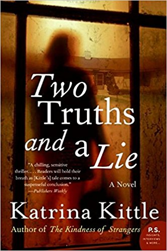 two truths and a lie book cover katrina kittle